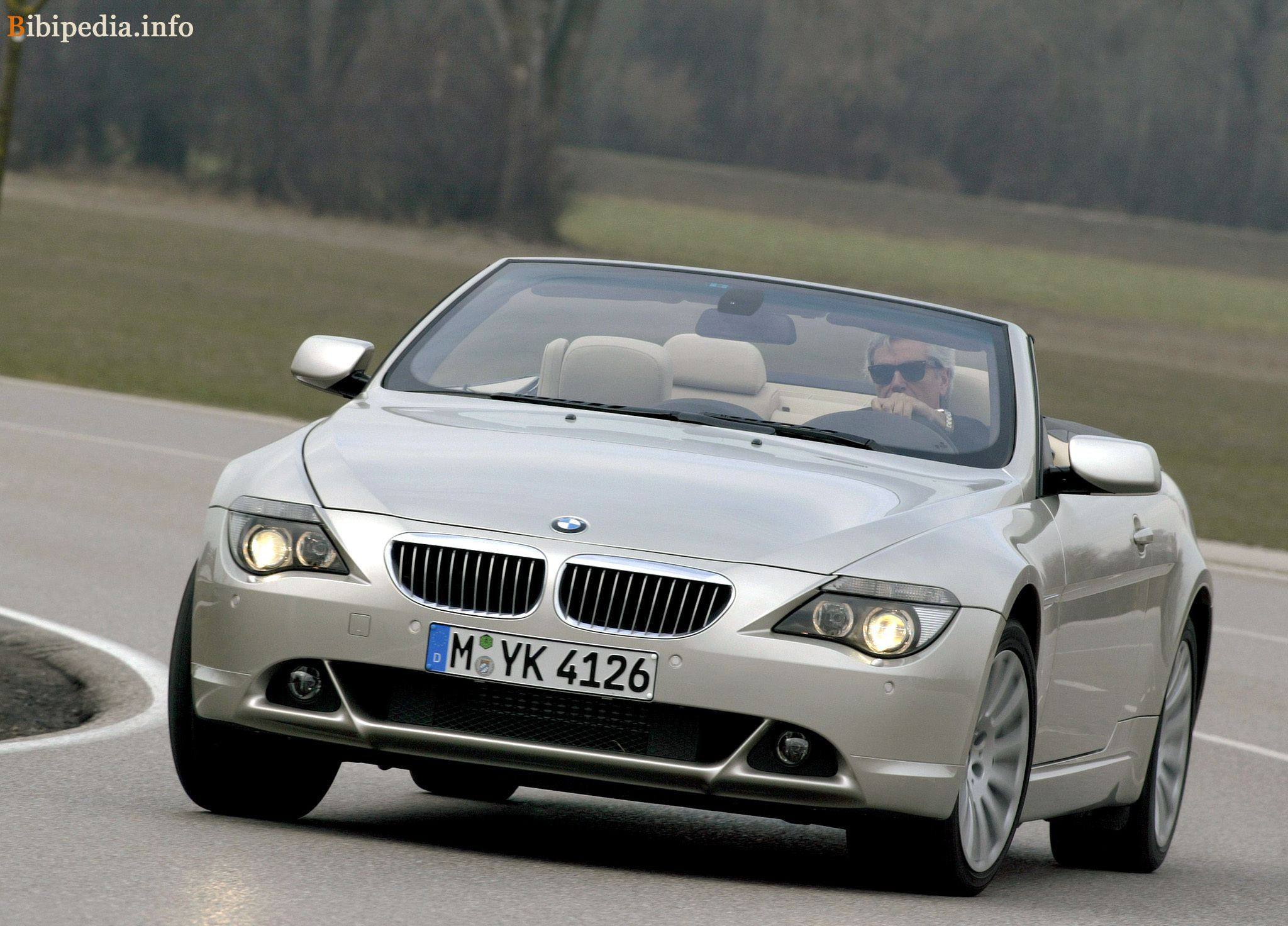 bmw 6er convertible (e64) 2004 models