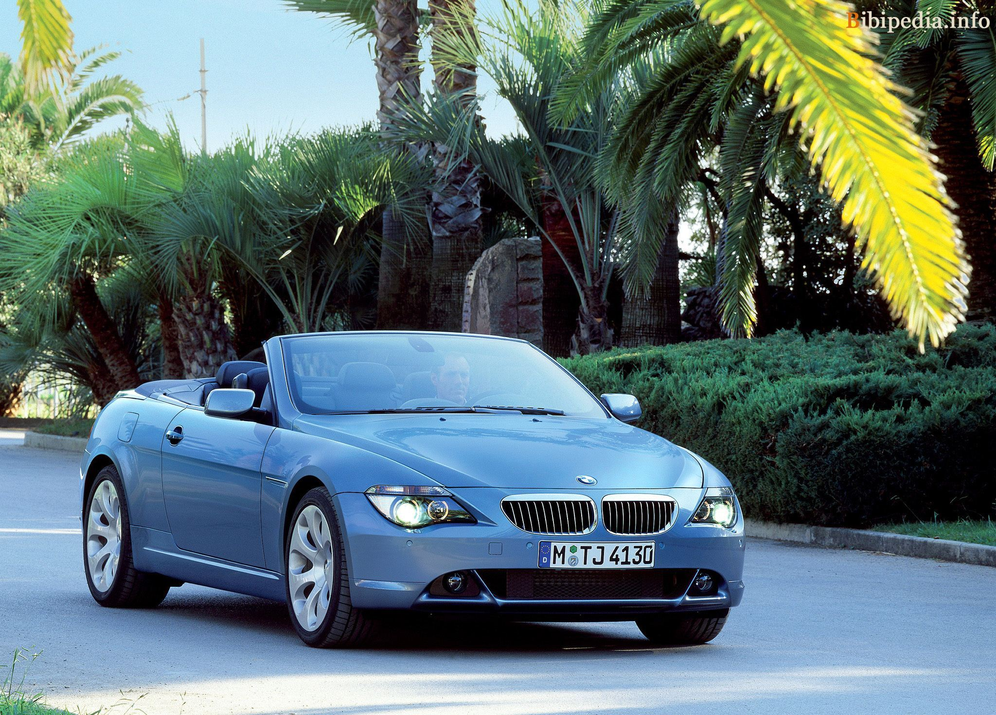 bmw 6er convertible (e64) 2004 pictures