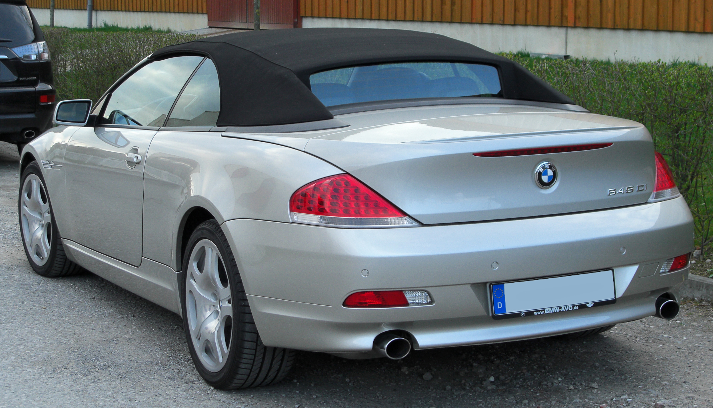 bmw 6er convertible (e64) 2004 wallpaper