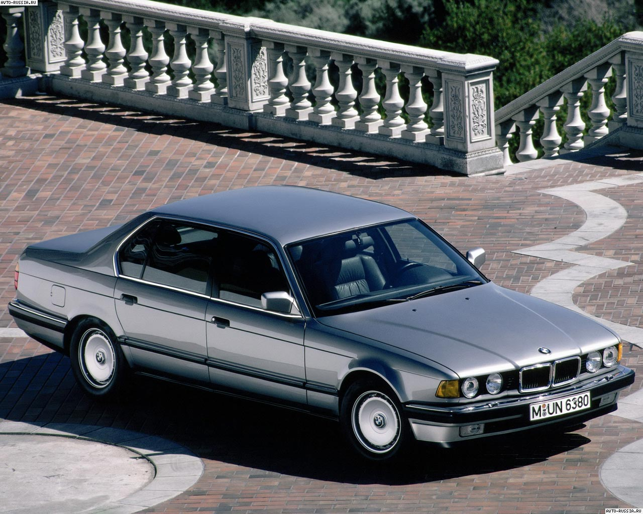 bmw 7er (e32) 1990 wallpaper #7