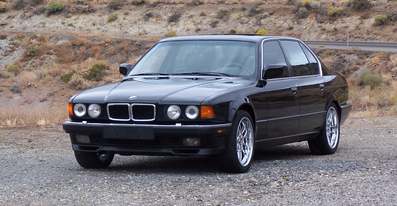 bmw 7er (e32) 1990 wallpaper #15