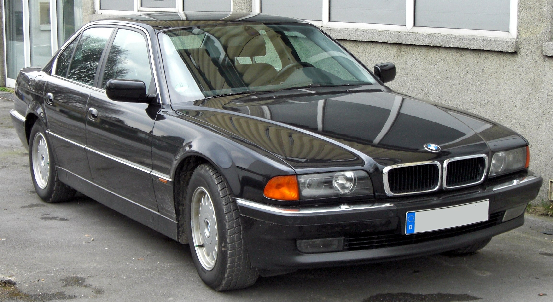 bmw 7er (e32) 1991 wallpaper #8