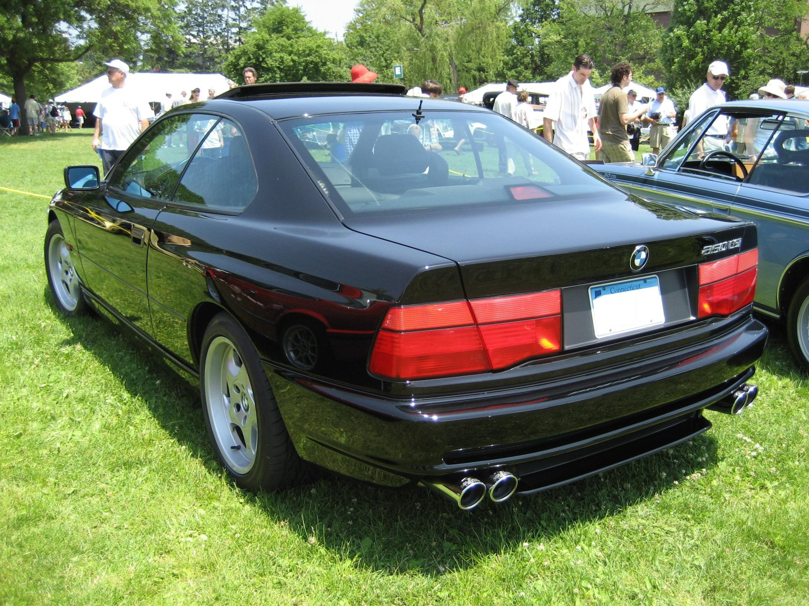 bmw 8er (e31) 1990 wallpaper #12