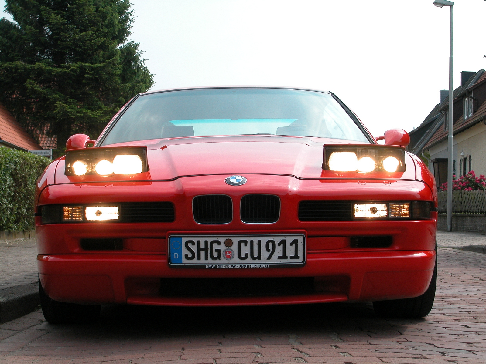 bmw 8er (e31) 1995 wallpaper #9