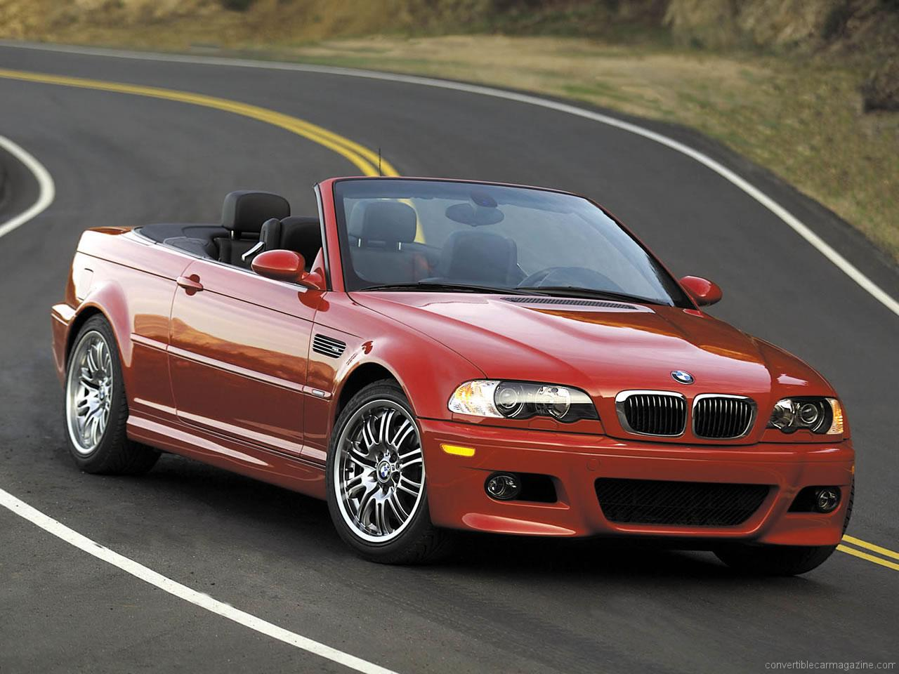 2001 Bmw M3 Cabrio E46 Pictures Information And Specs