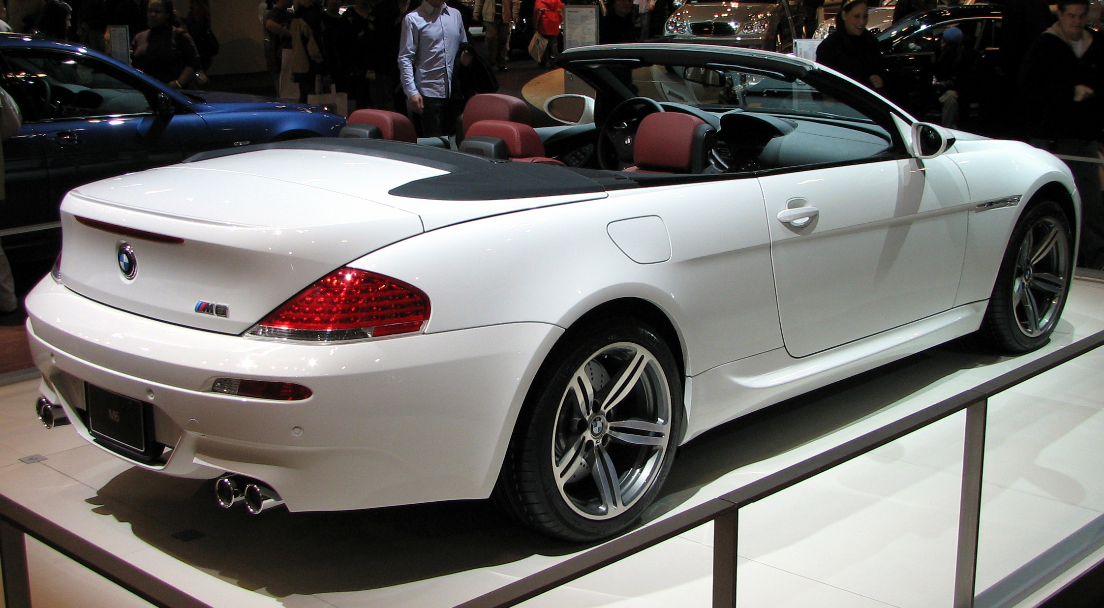 2006 bmw m6 cabrio pictures information and specs auto. Black Bedroom Furniture Sets. Home Design Ideas