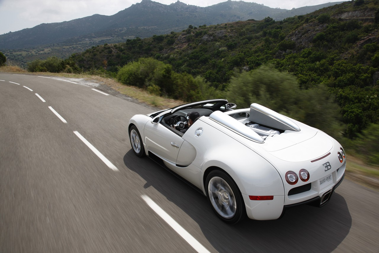 bugatti veyron grand sport 2008 wallpaper
