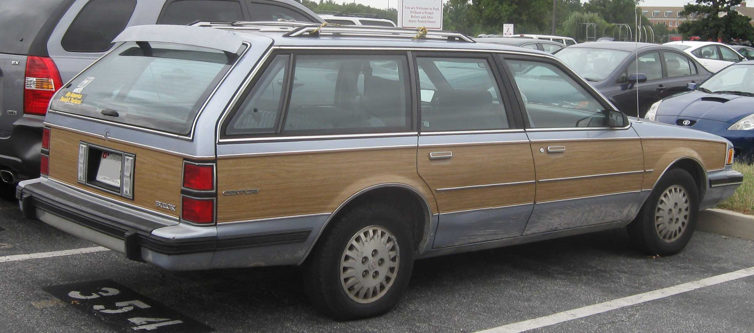 1994 Buick Century wagon   pictures, information and specs - Auto