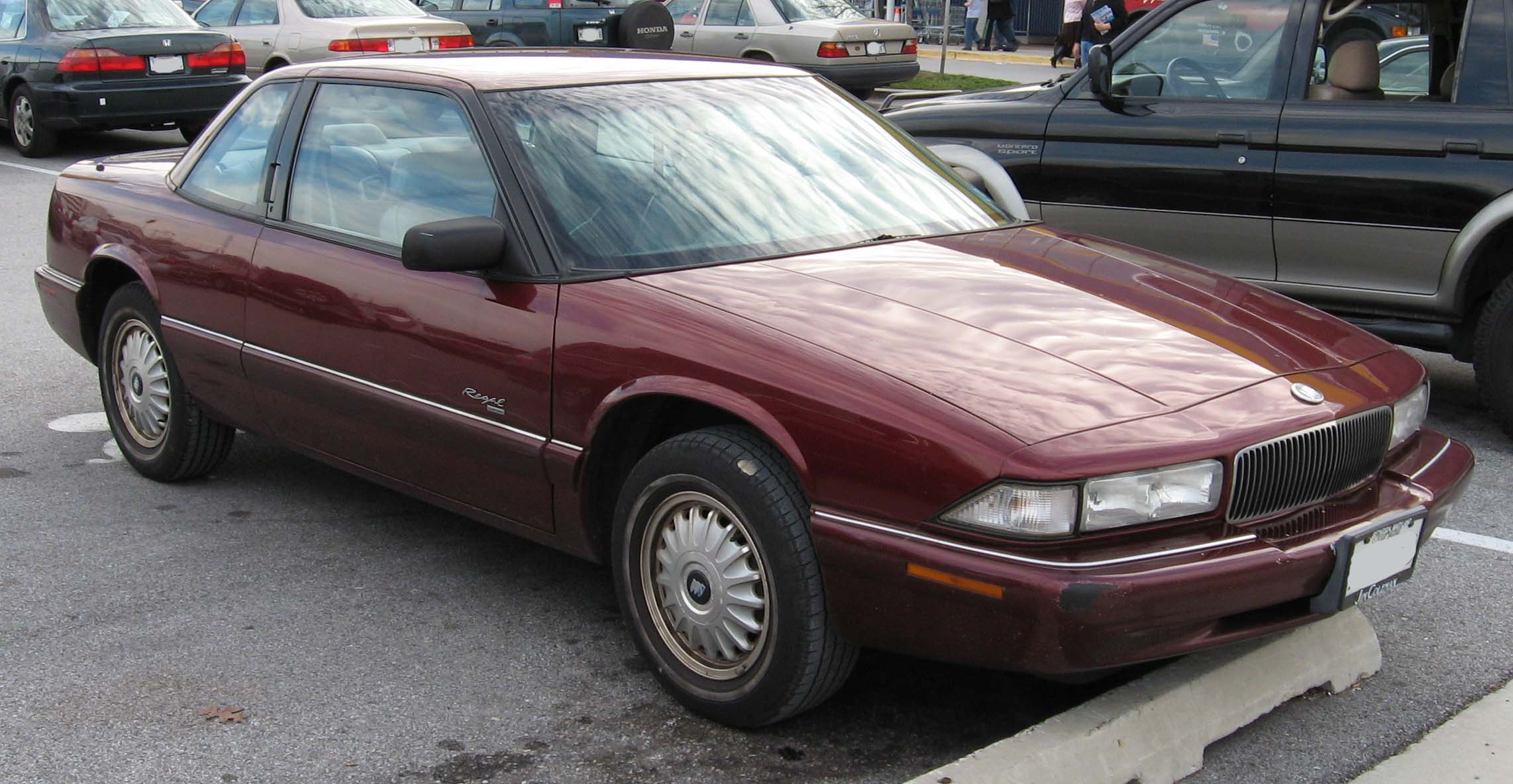 buick regal coupe 1995 models