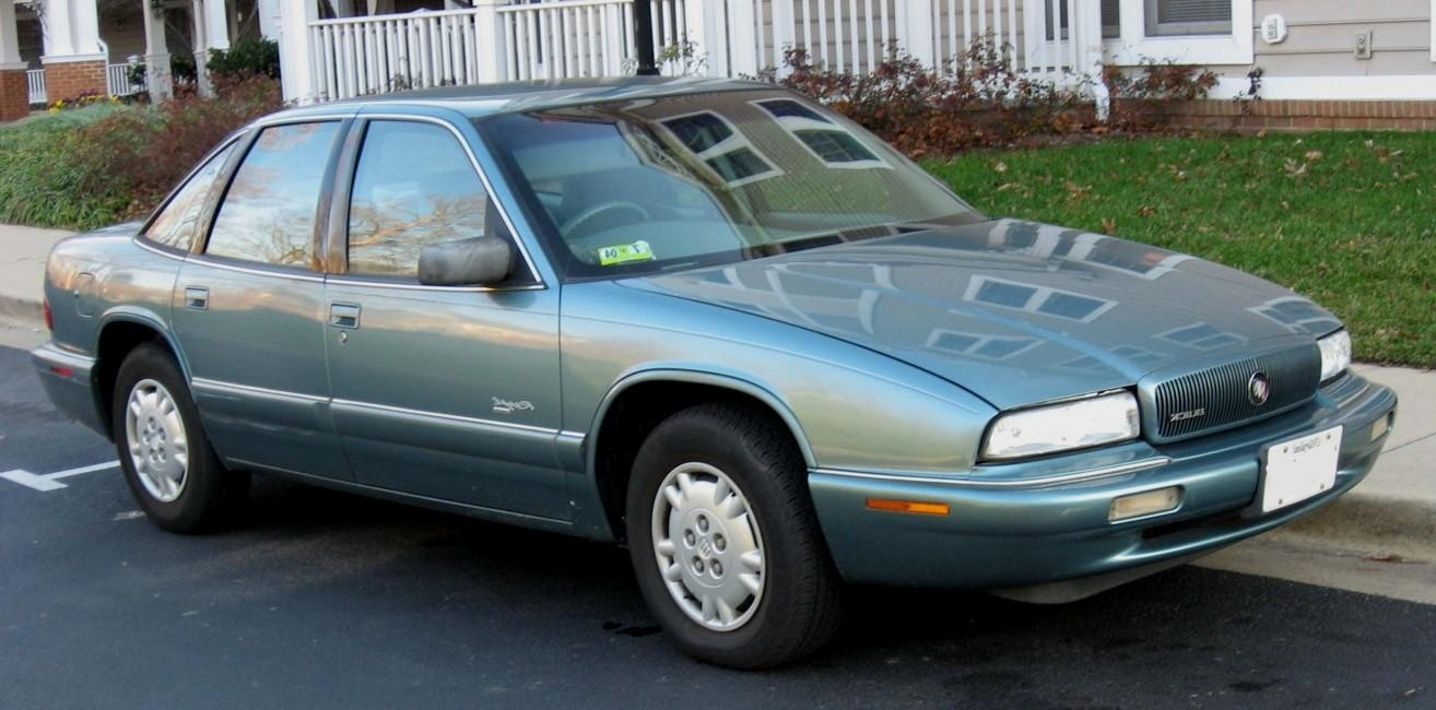 buick regal coupe 1995 pictures