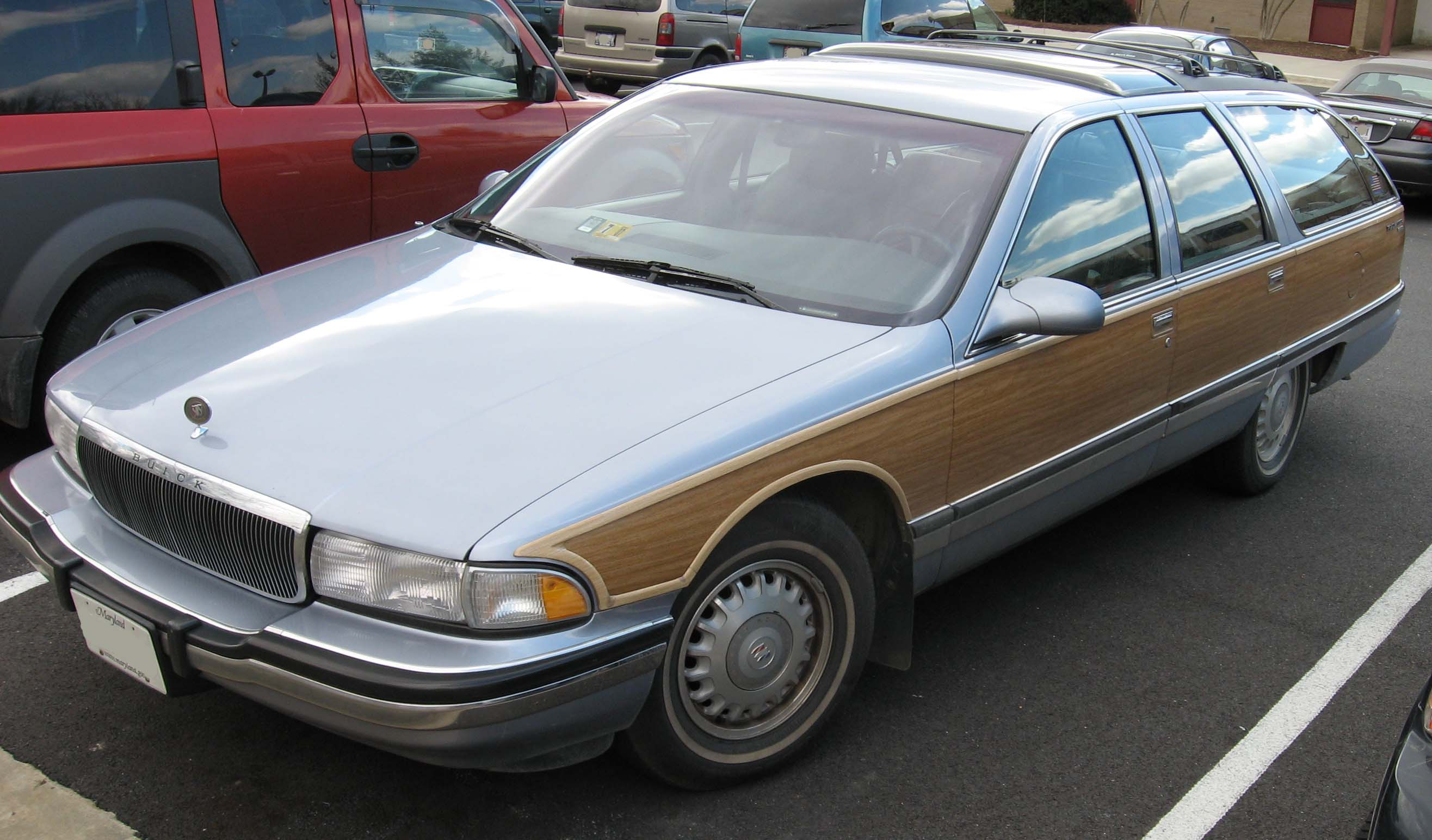 buick roadmaster 1991 models