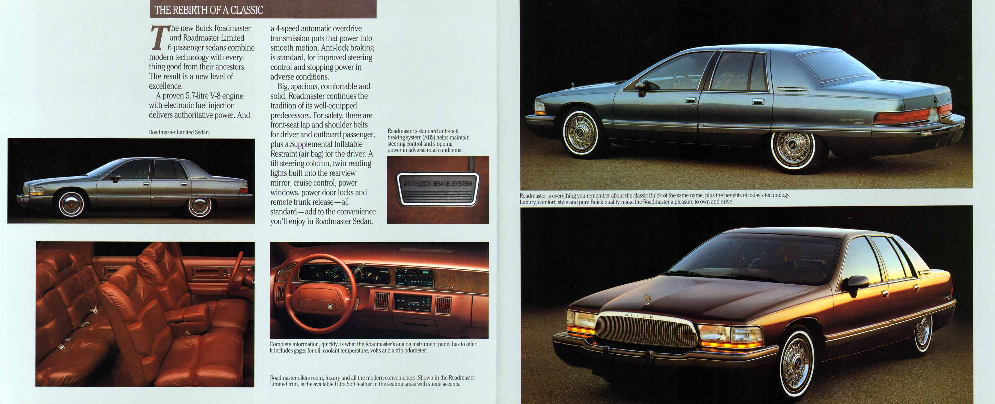 buick roadmaster 1992 pictures #5