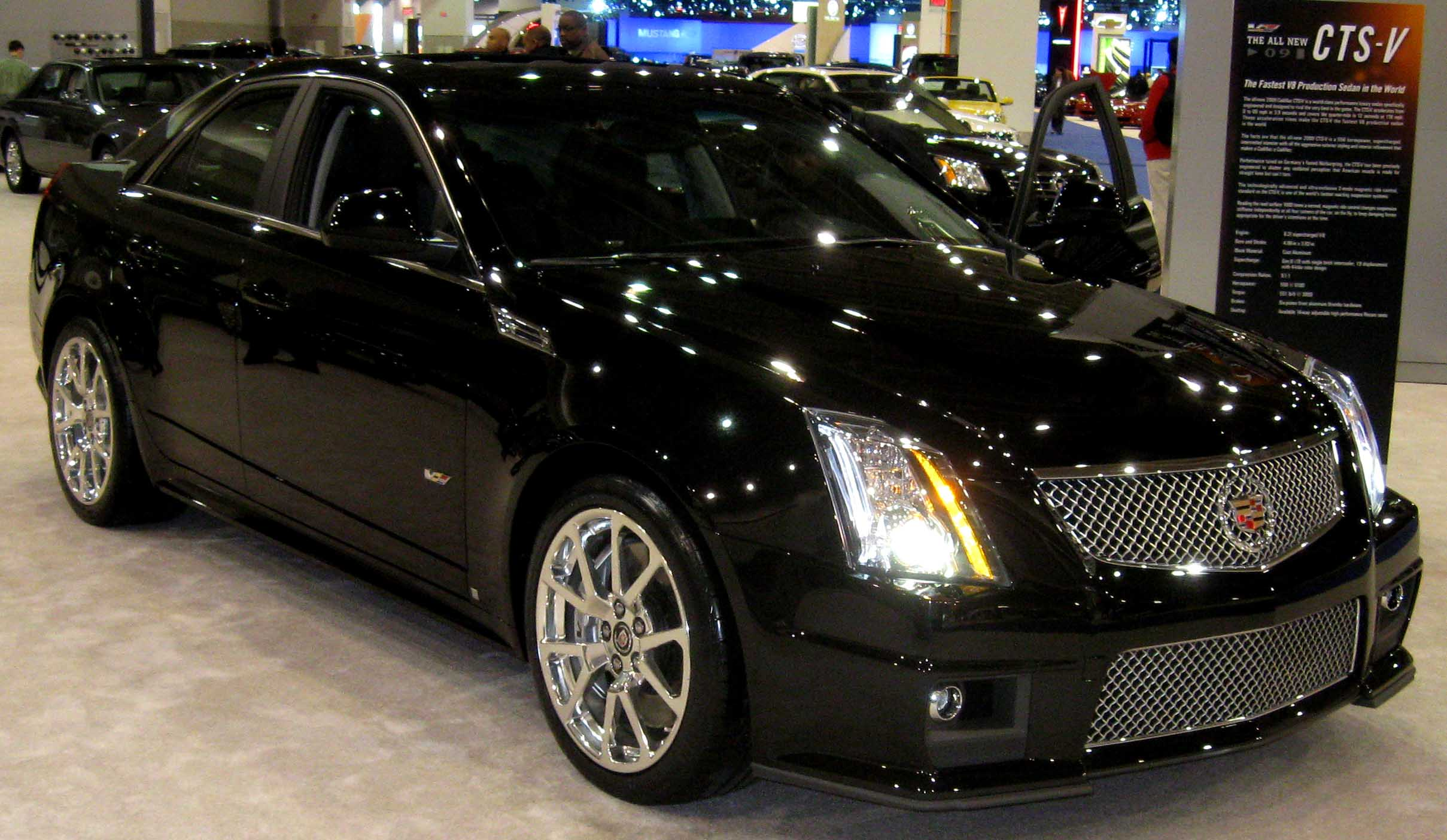 2009 Cadillac Cts 2008 Pictures Information And Specs Auto
