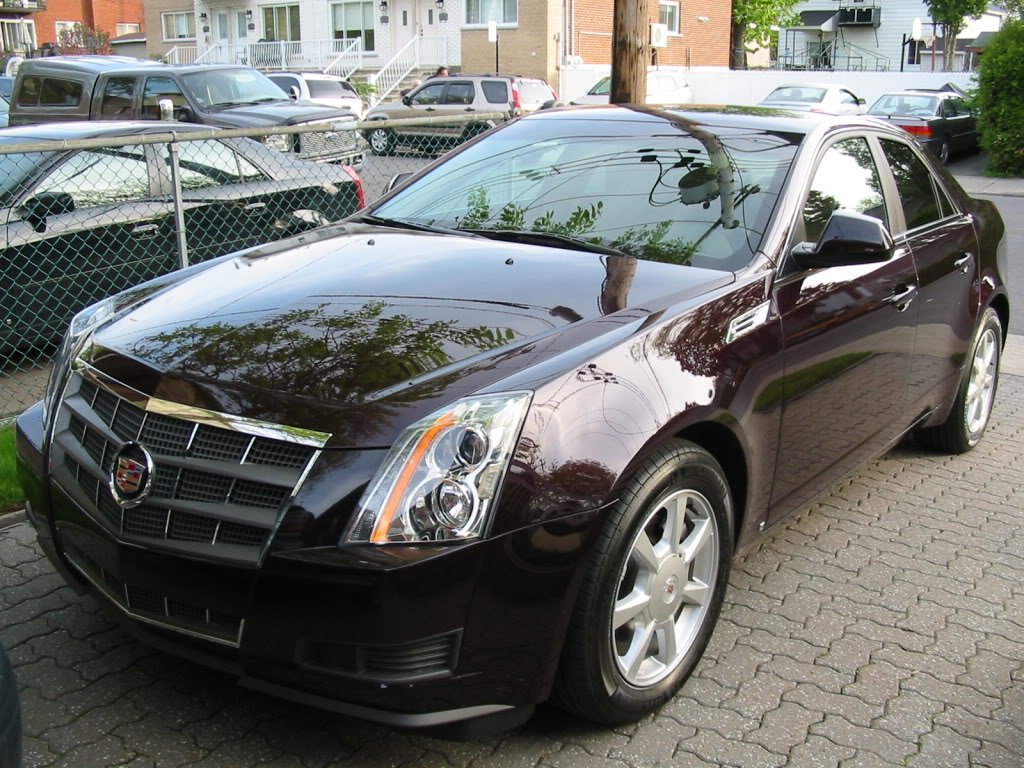 cadillac cts 2008 2009 images