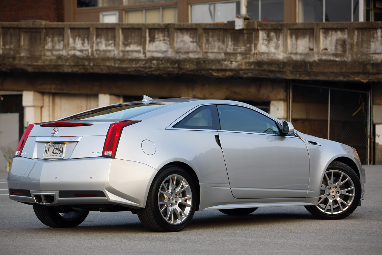 2010 Cadillac Cts Coupe Pictures Information And Specs