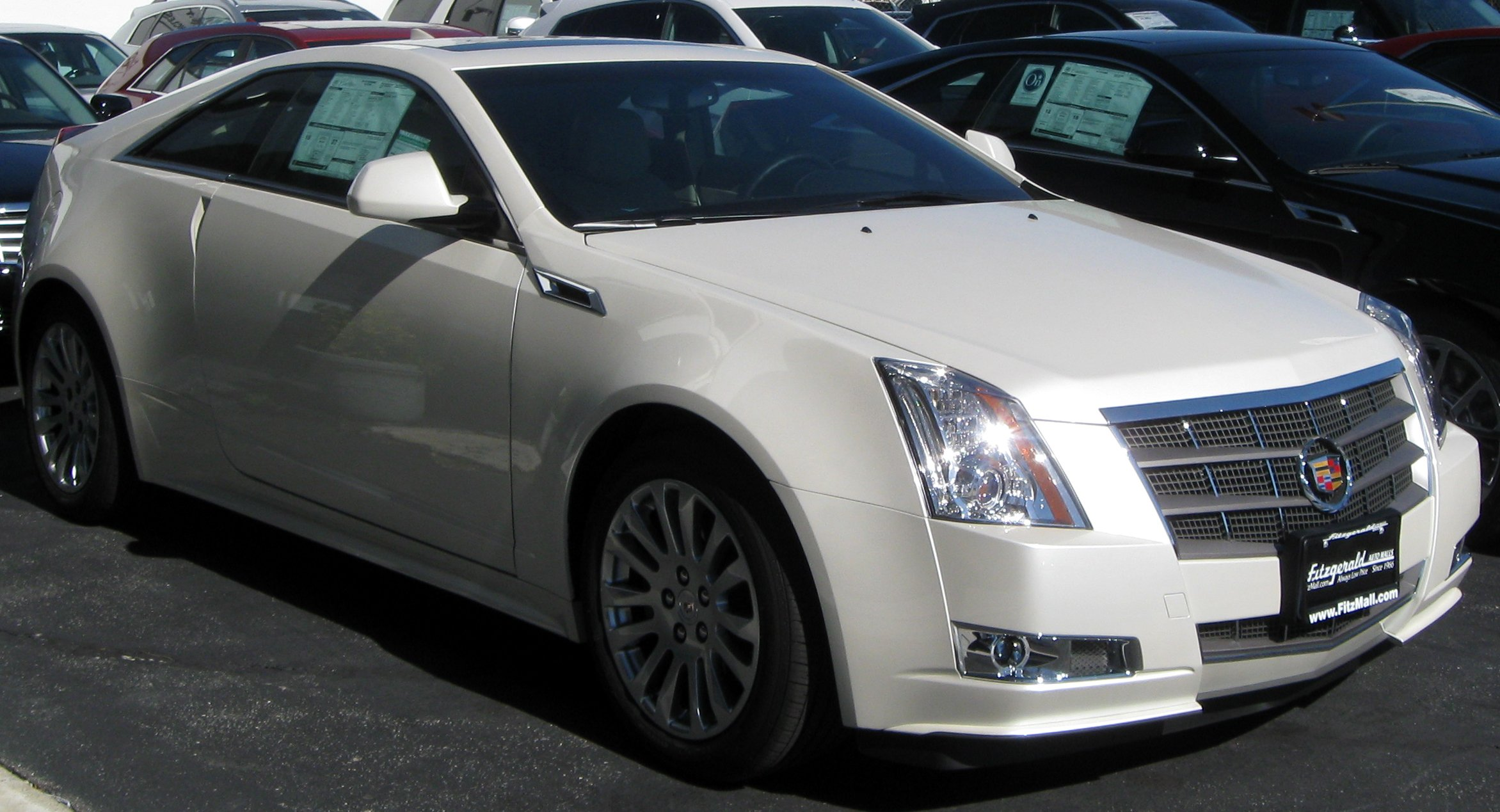 2010 cadillac cts coupe pictures information and specs auto. Black Bedroom Furniture Sets. Home Design Ideas