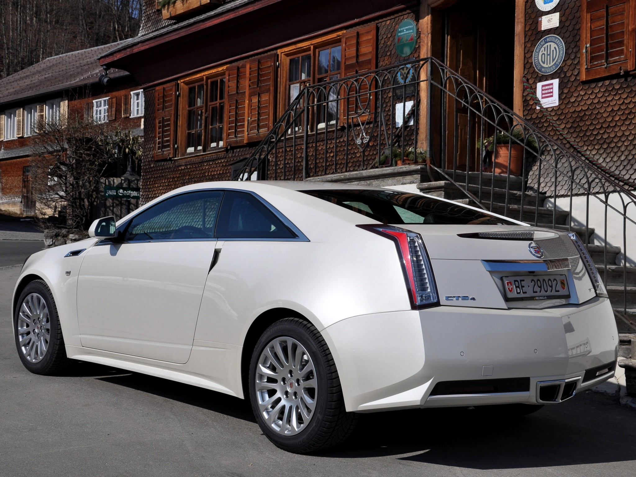 cadillac cts coupe 2012 models #11