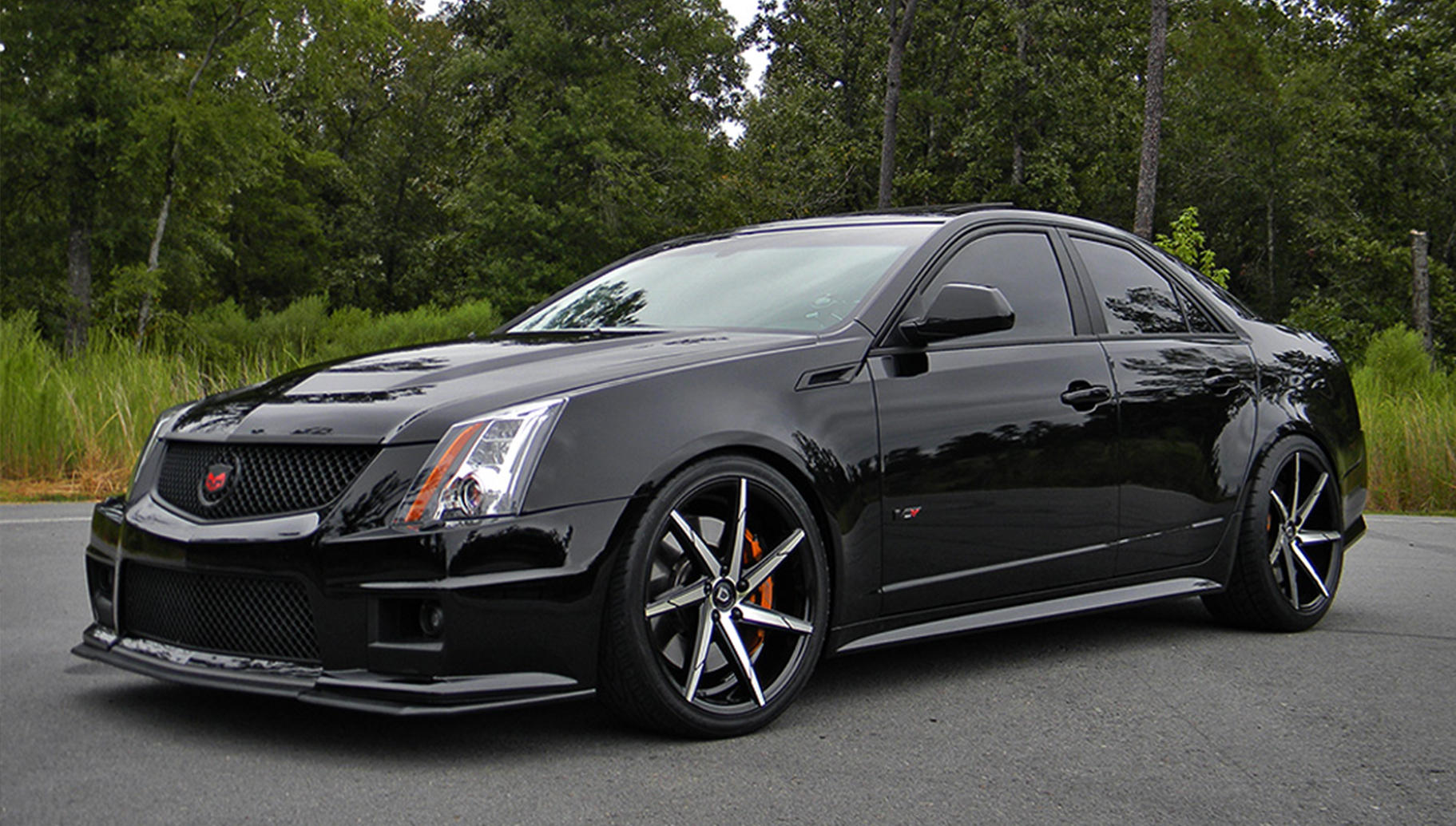 miles cadillac news three rear v show coupe a in cts more quarter