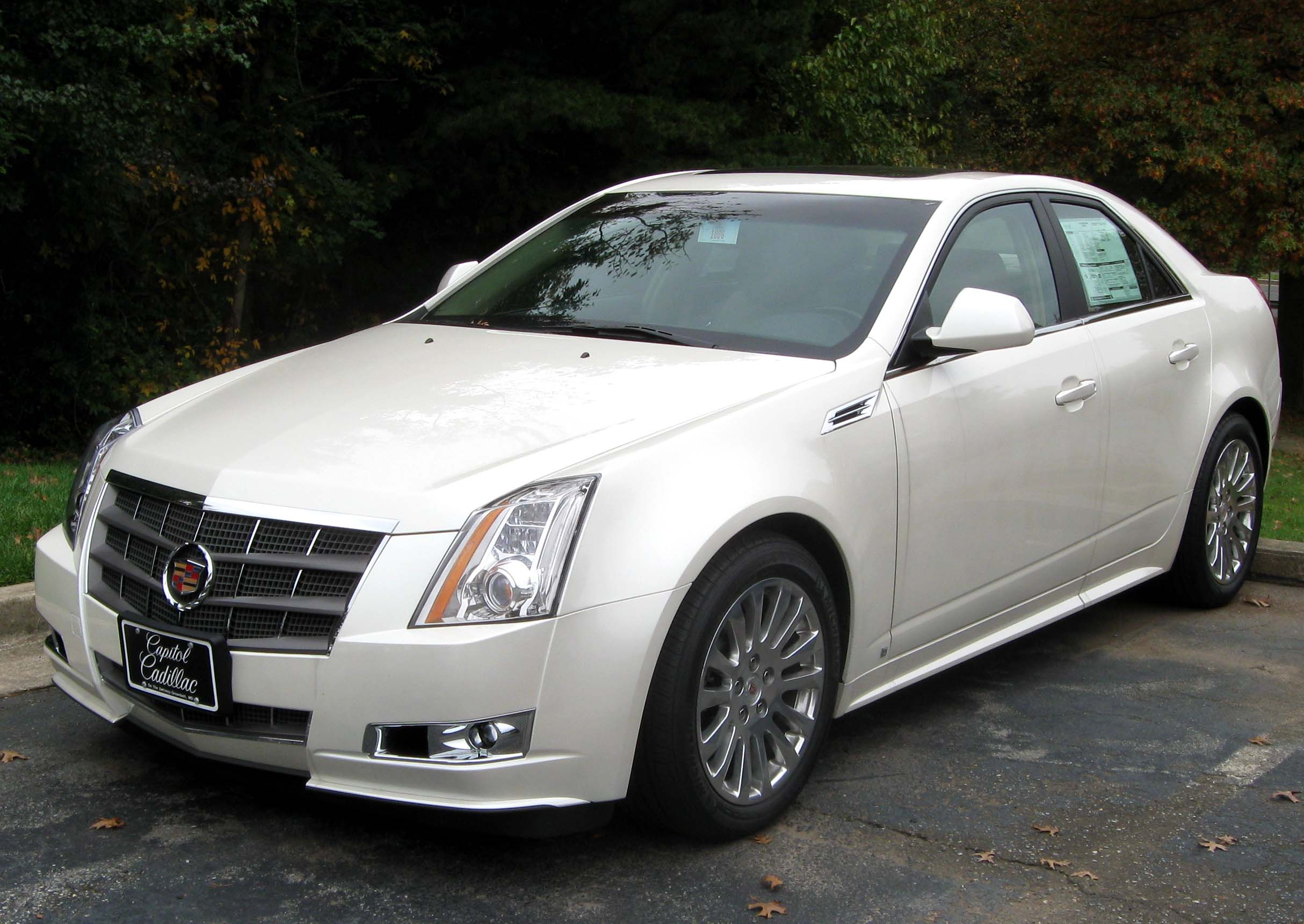 cadillac cts pictures