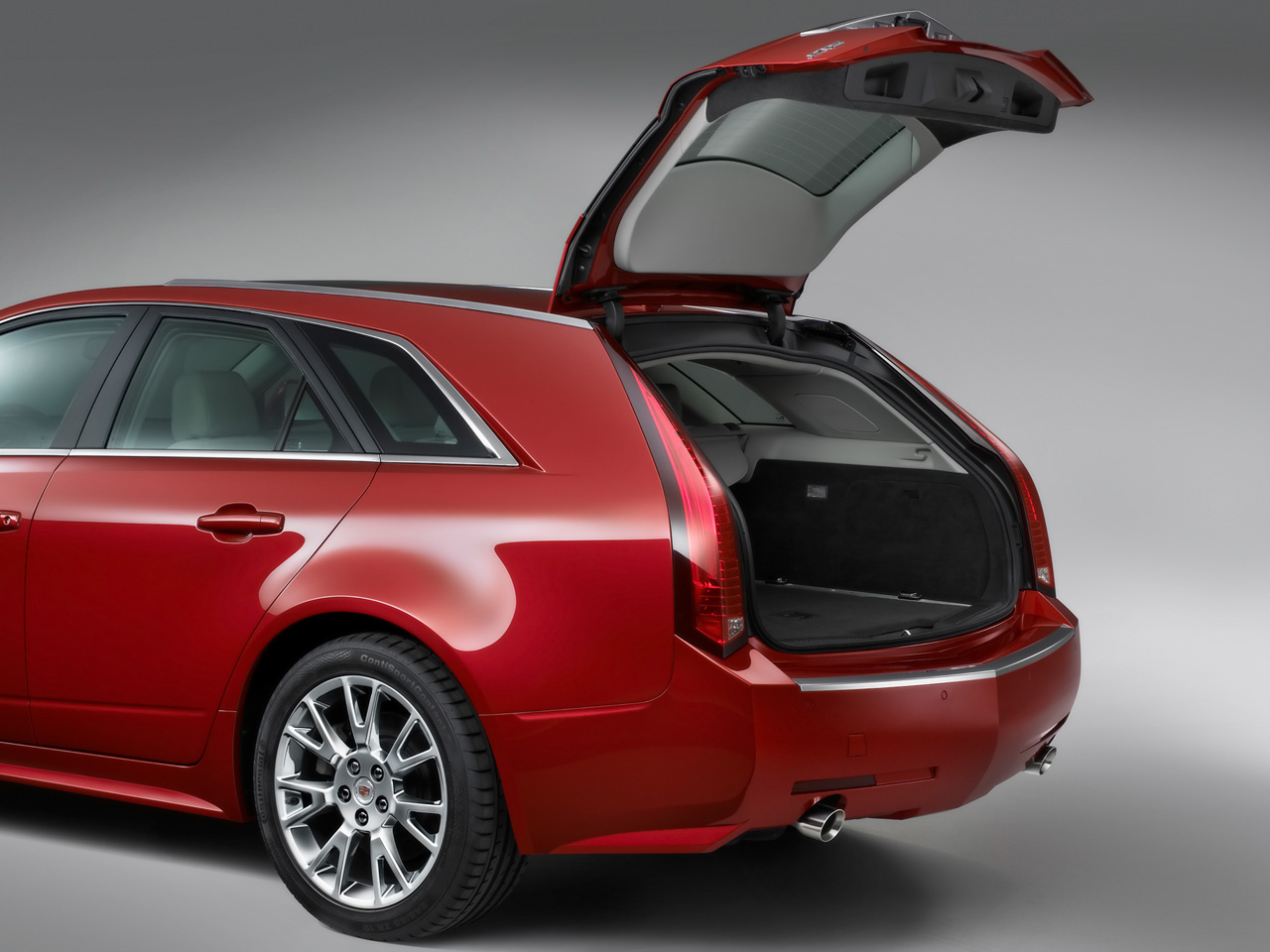 cadillac cts sport wagon 2010 images