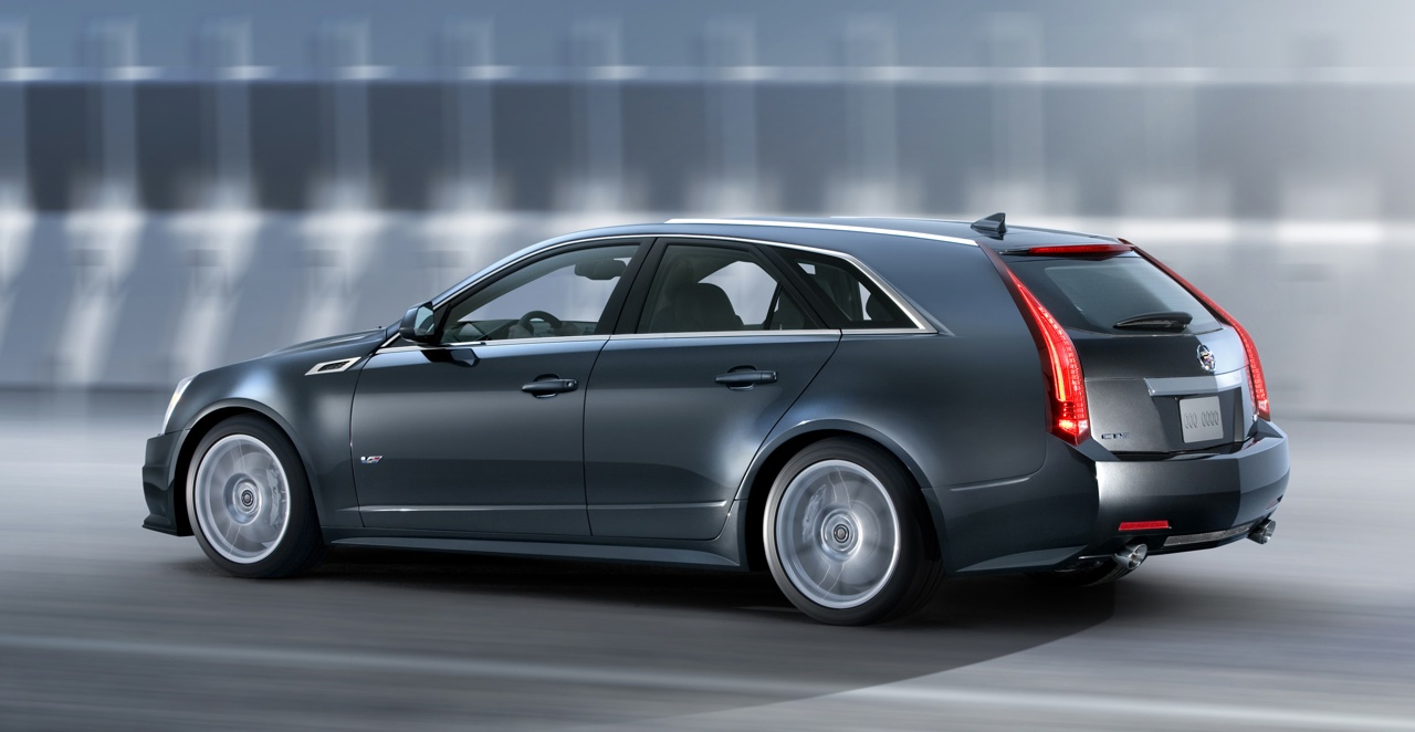cadillac cts sport wagon 2010 pictures