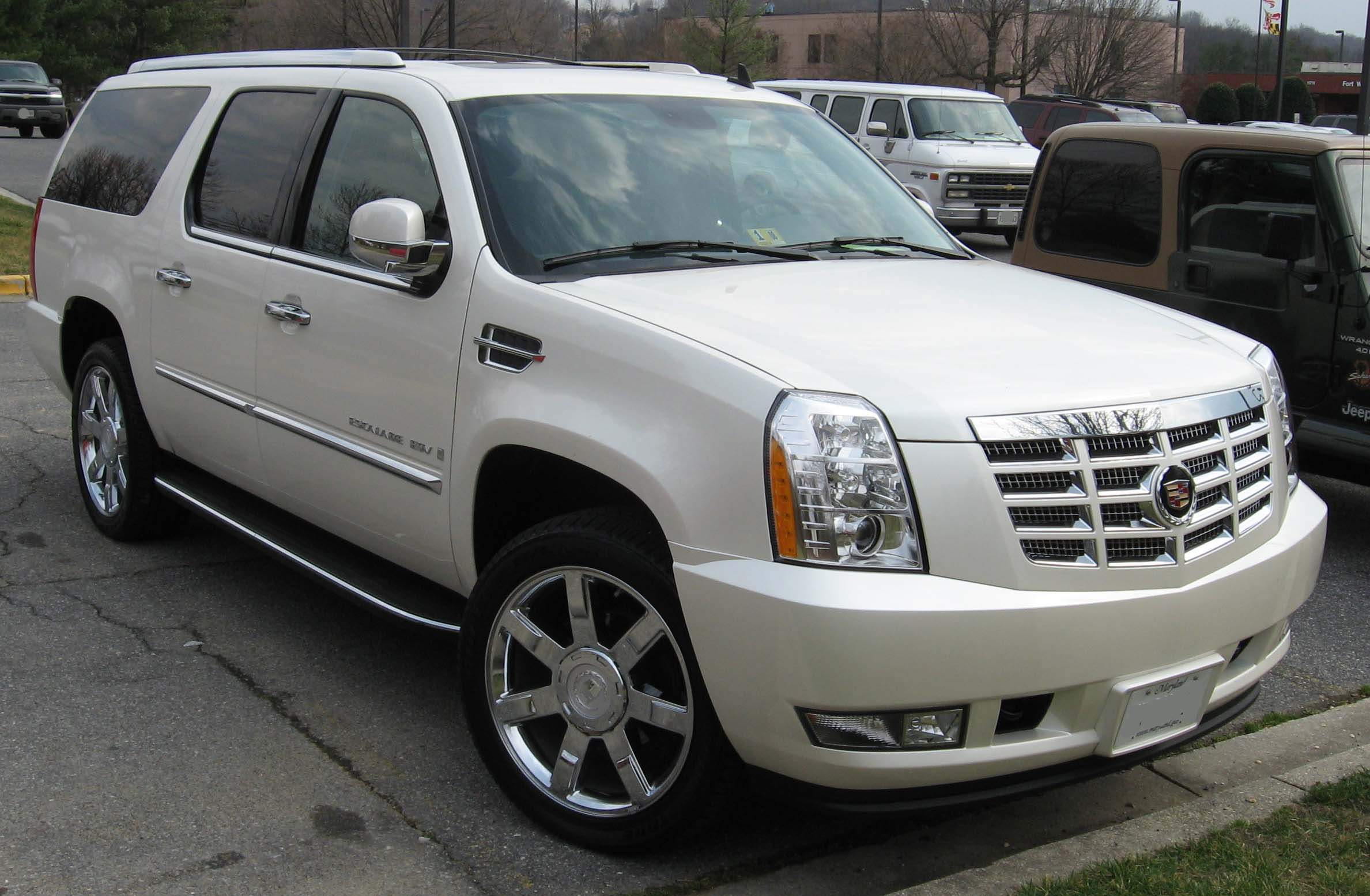 2007 cadillac escalade esv pictures information and. Black Bedroom Furniture Sets. Home Design Ideas