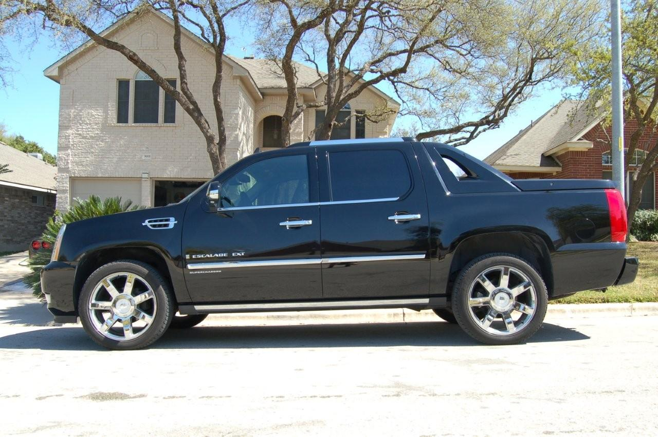 2008 cadillac escalade ext pictures information and specs auto. Black Bedroom Furniture Sets. Home Design Ideas