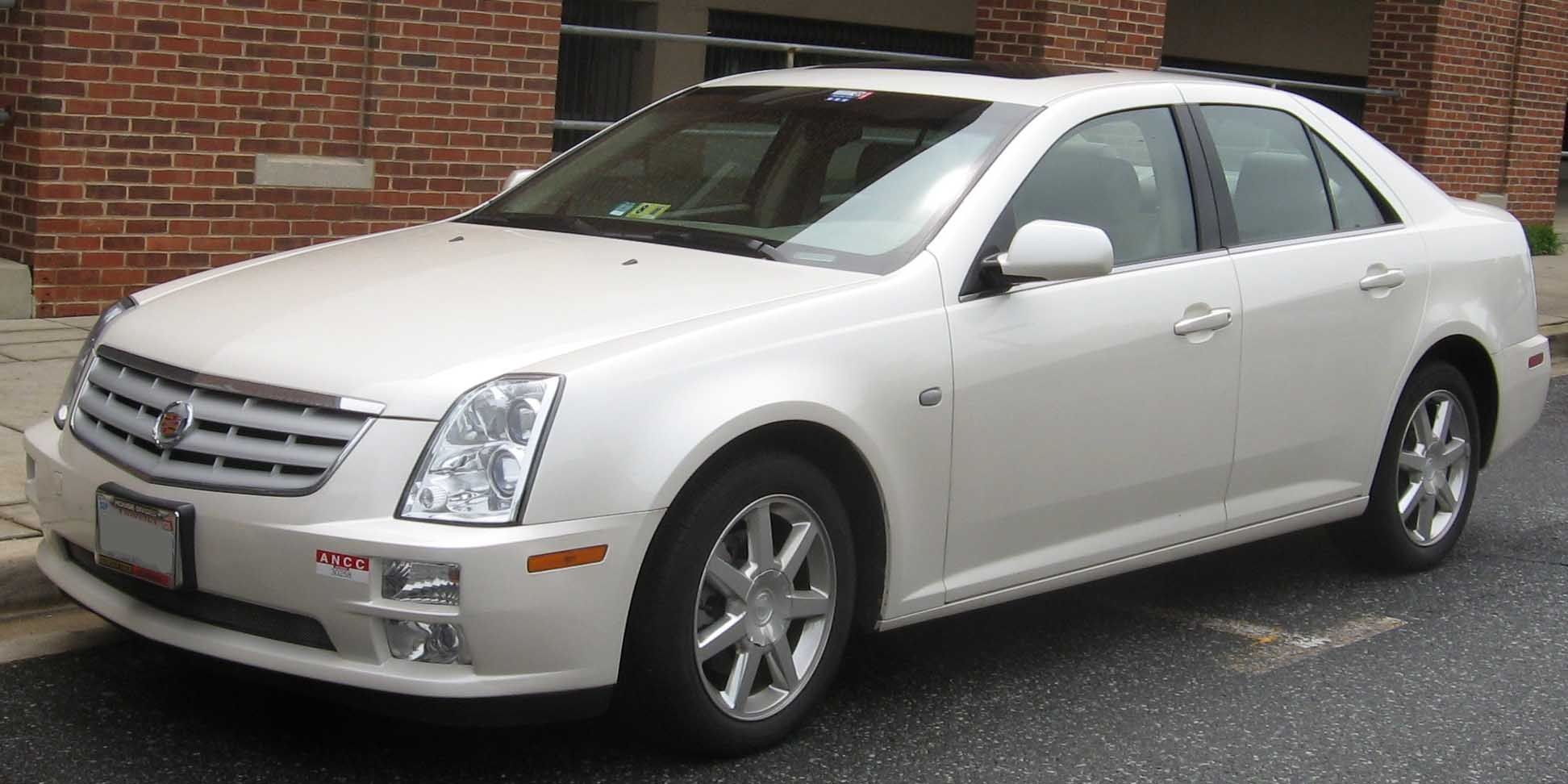 cadillac sts images #6