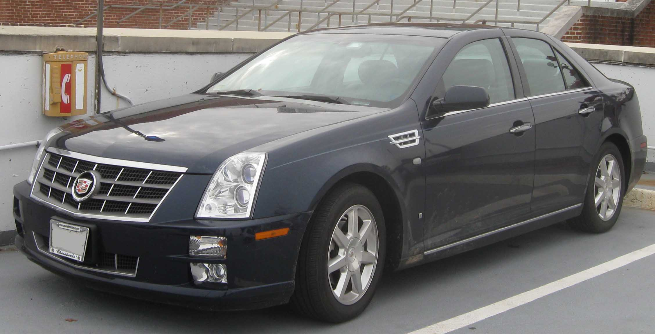 cadillac sts pictures #1