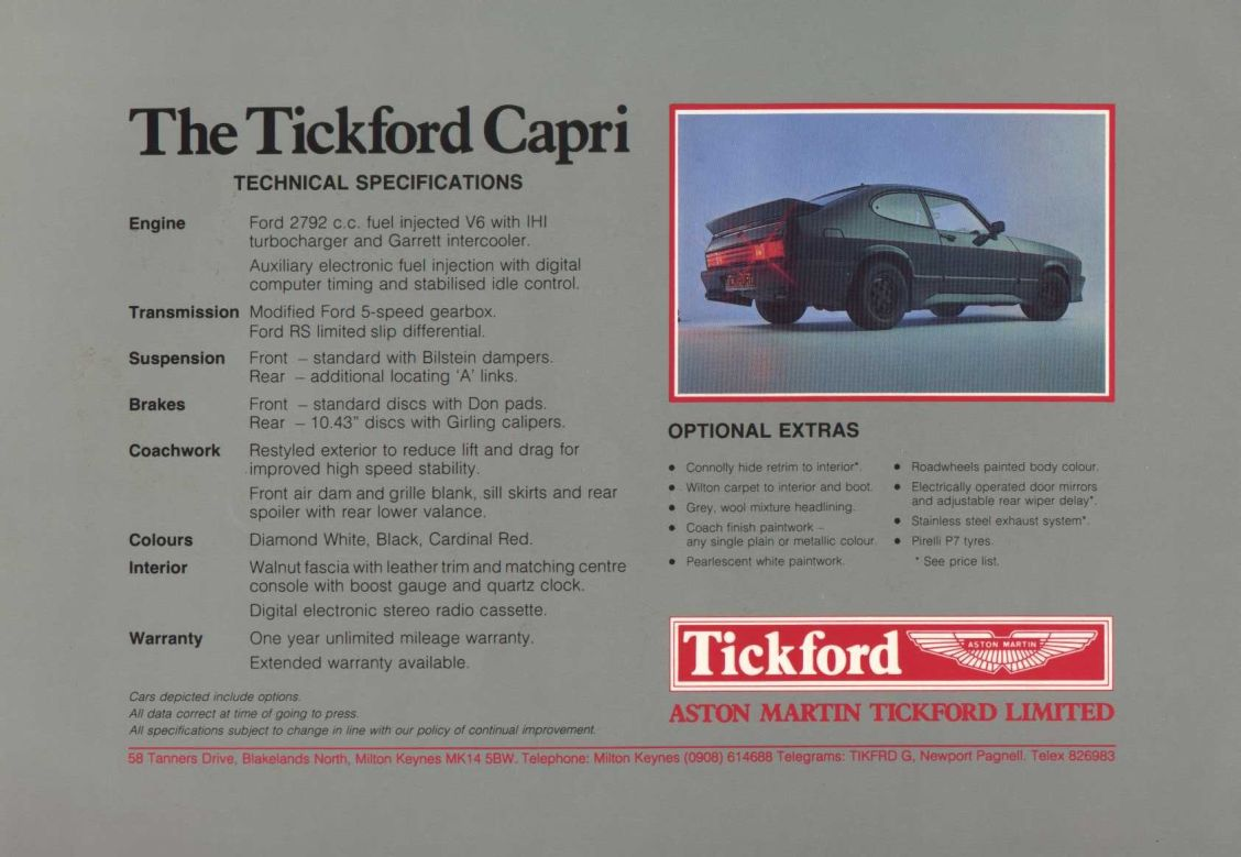 Cars aston martin tickford capri #2