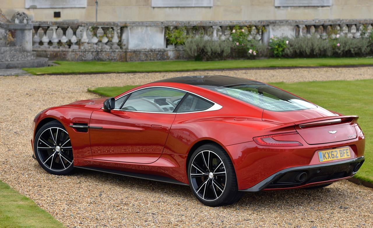 2016 Aston Martin Vanquish Pictures Information And