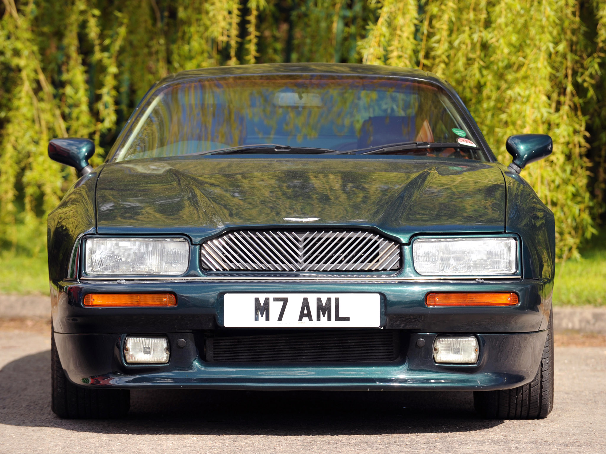 Cars aston martin virage vantage 1995