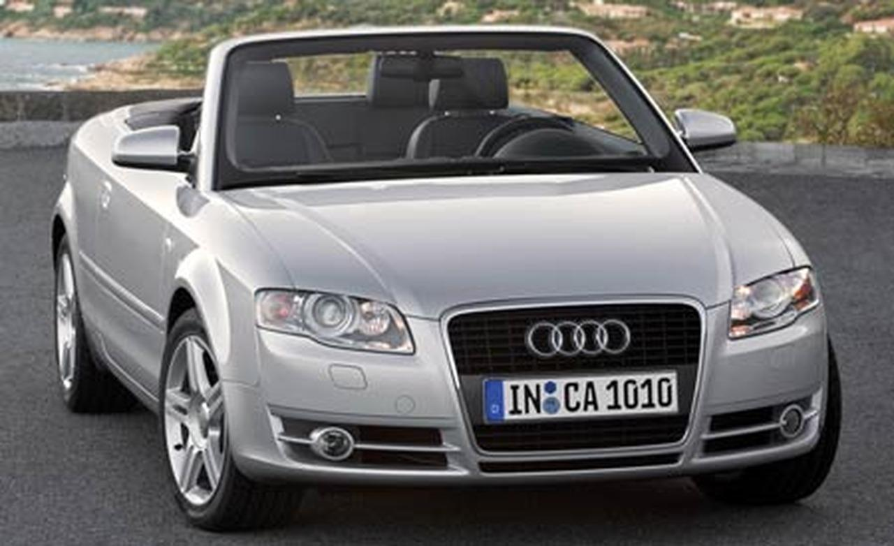 Cars Audi A4 Cabriolet 2007 Auto Database Com