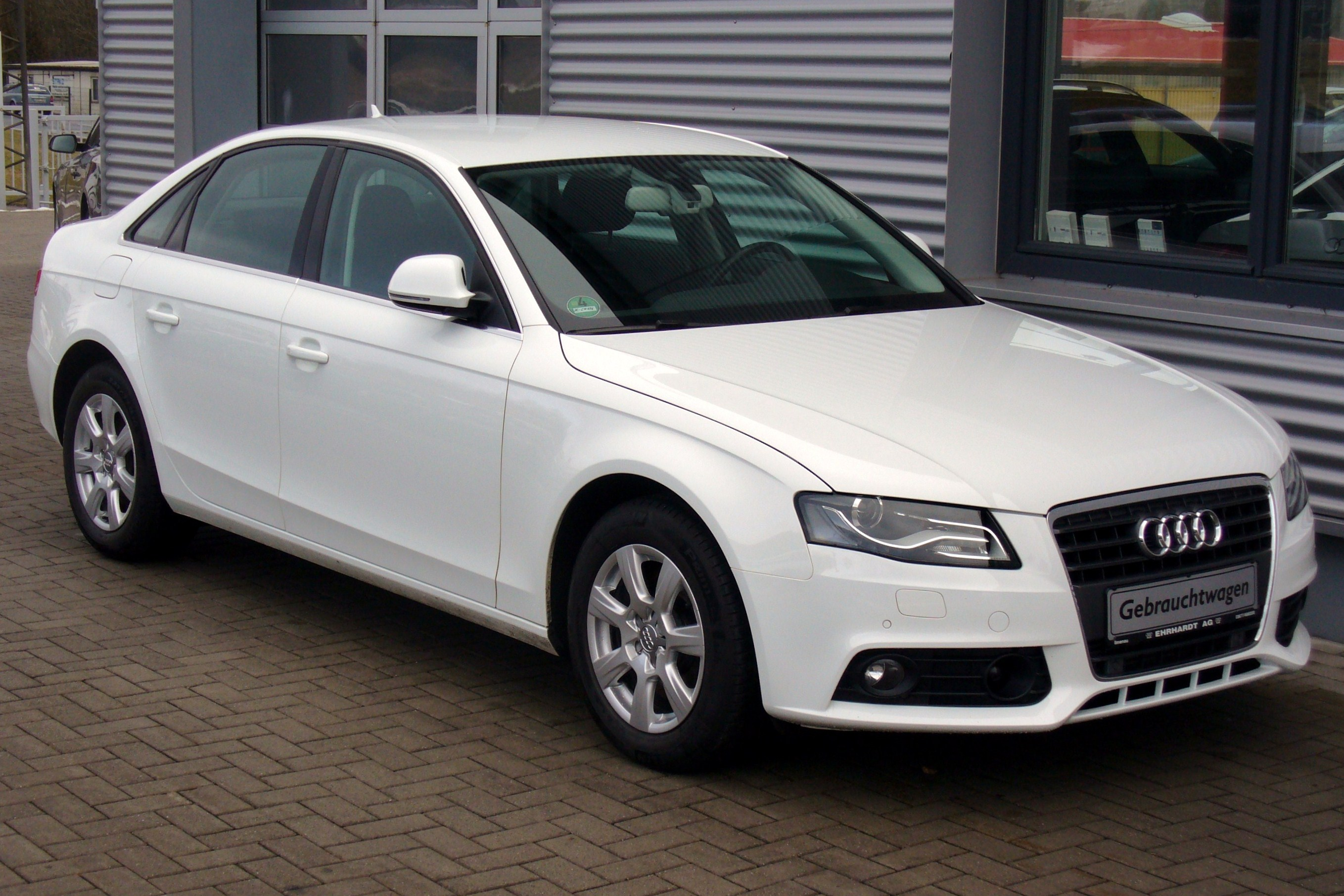 2012 Audi A4 Sedan B8 Pictures Information And Specs