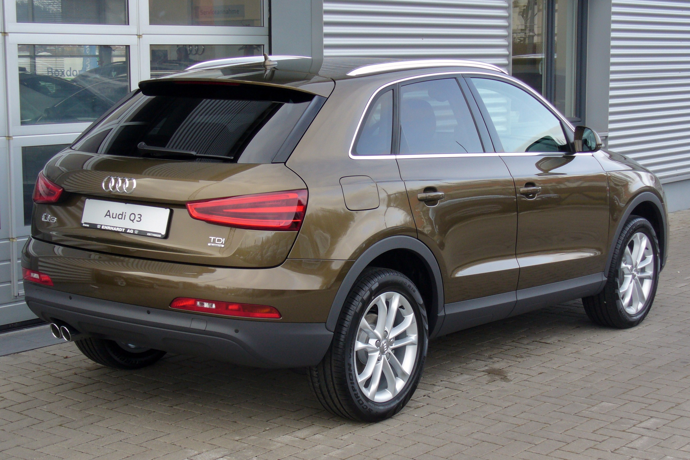 2011 Audi Q3 - pictures, information and specs - Auto ...