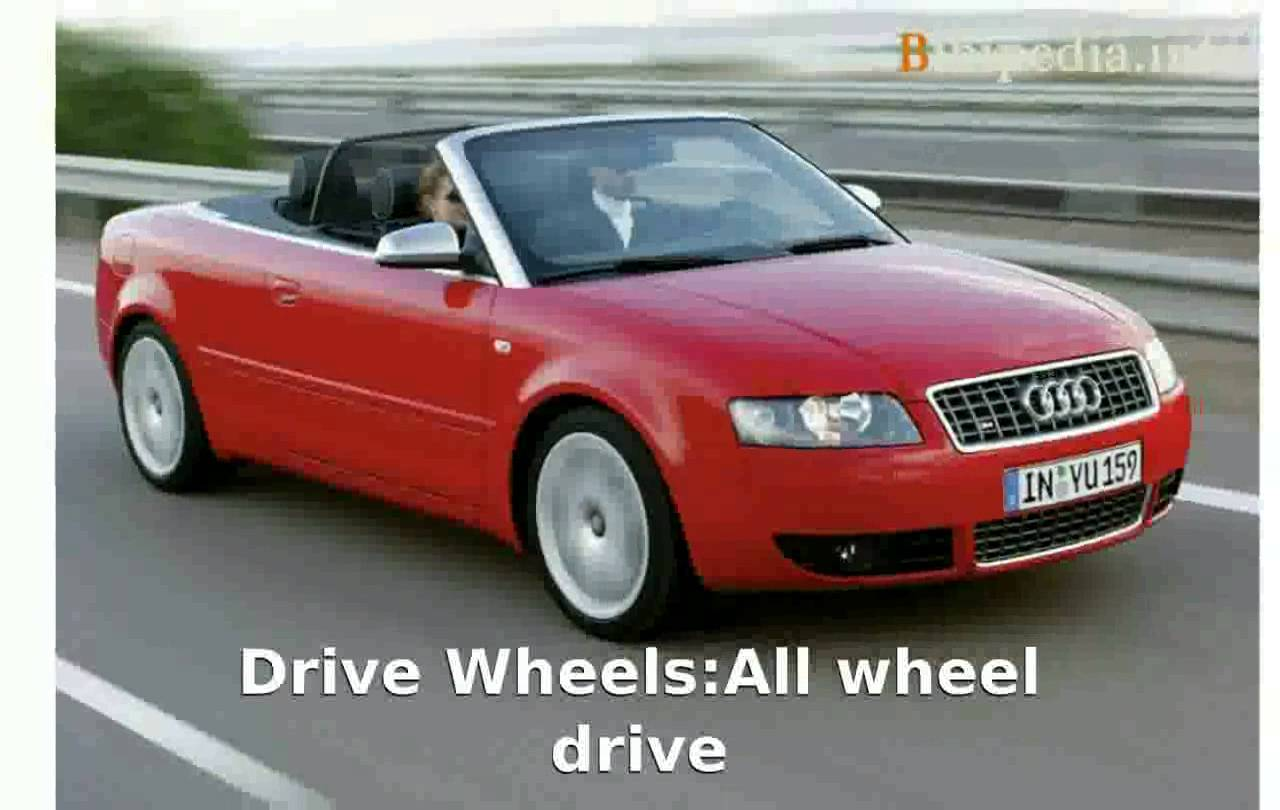Cars audi s4 cabriolet 2003