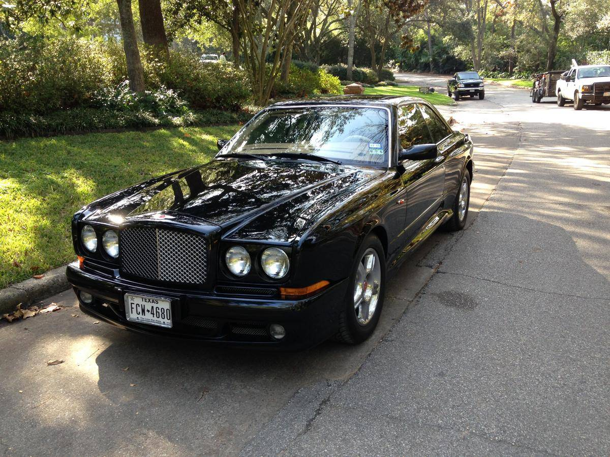 Cars bentley continental r 1999