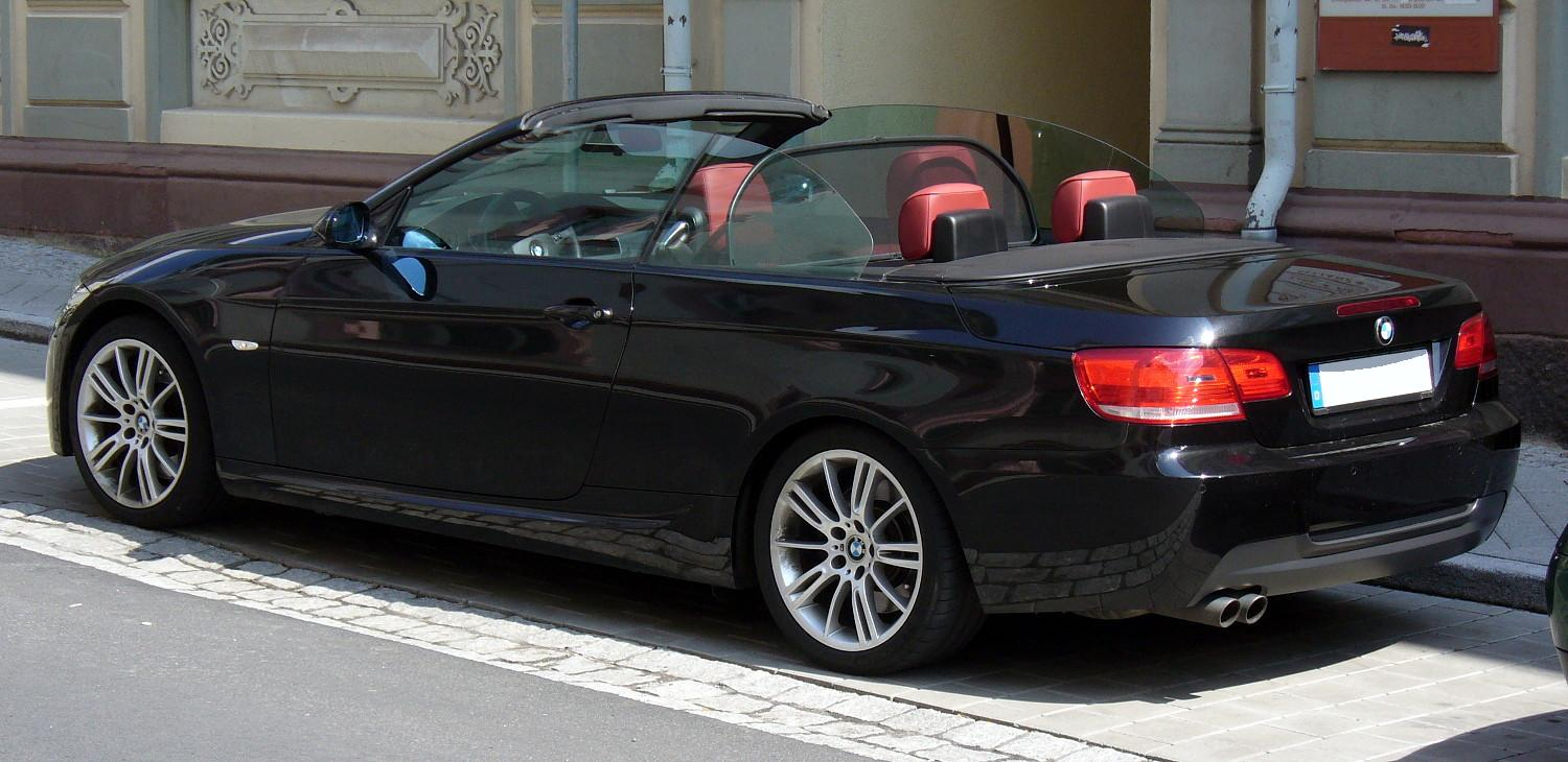 2013 Bmw 3 Series Cabrio E93 Pictures Information And Specs