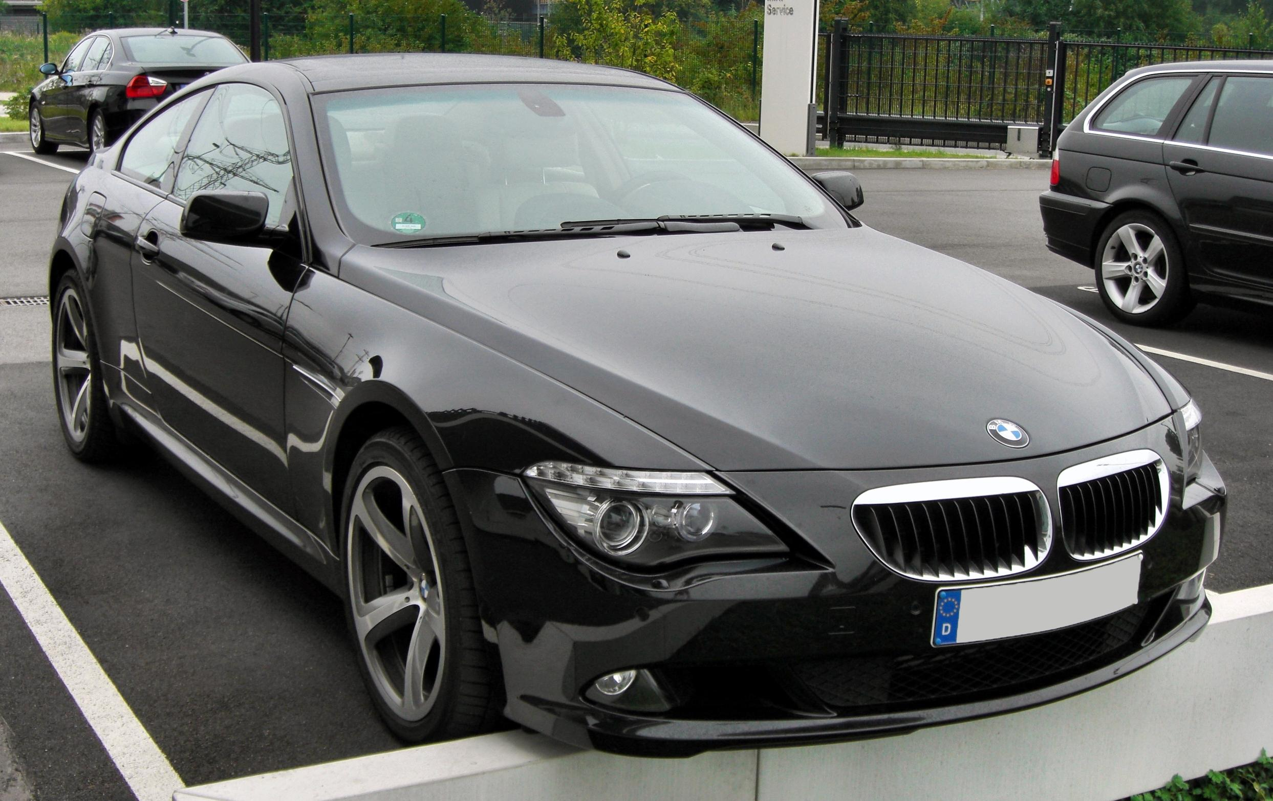 Cars bmw 6er convertible (e64) 2004