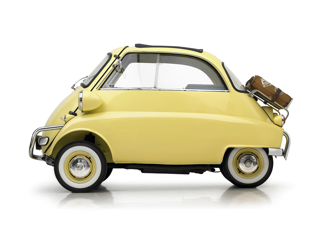 Cars bmw isetta #8