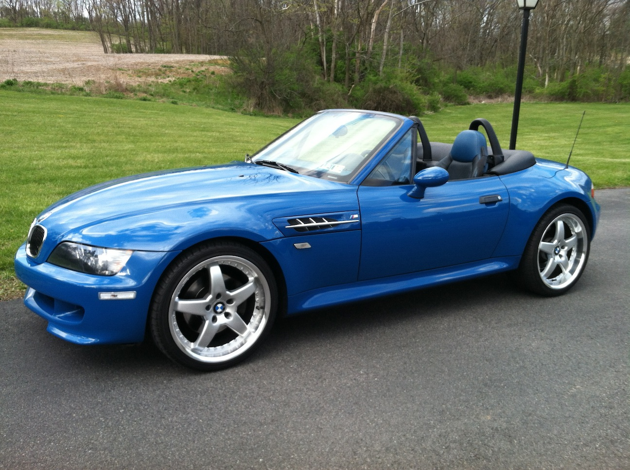 Bmw Z 2001 Bmw Z3 M Roadster Pictures Information And