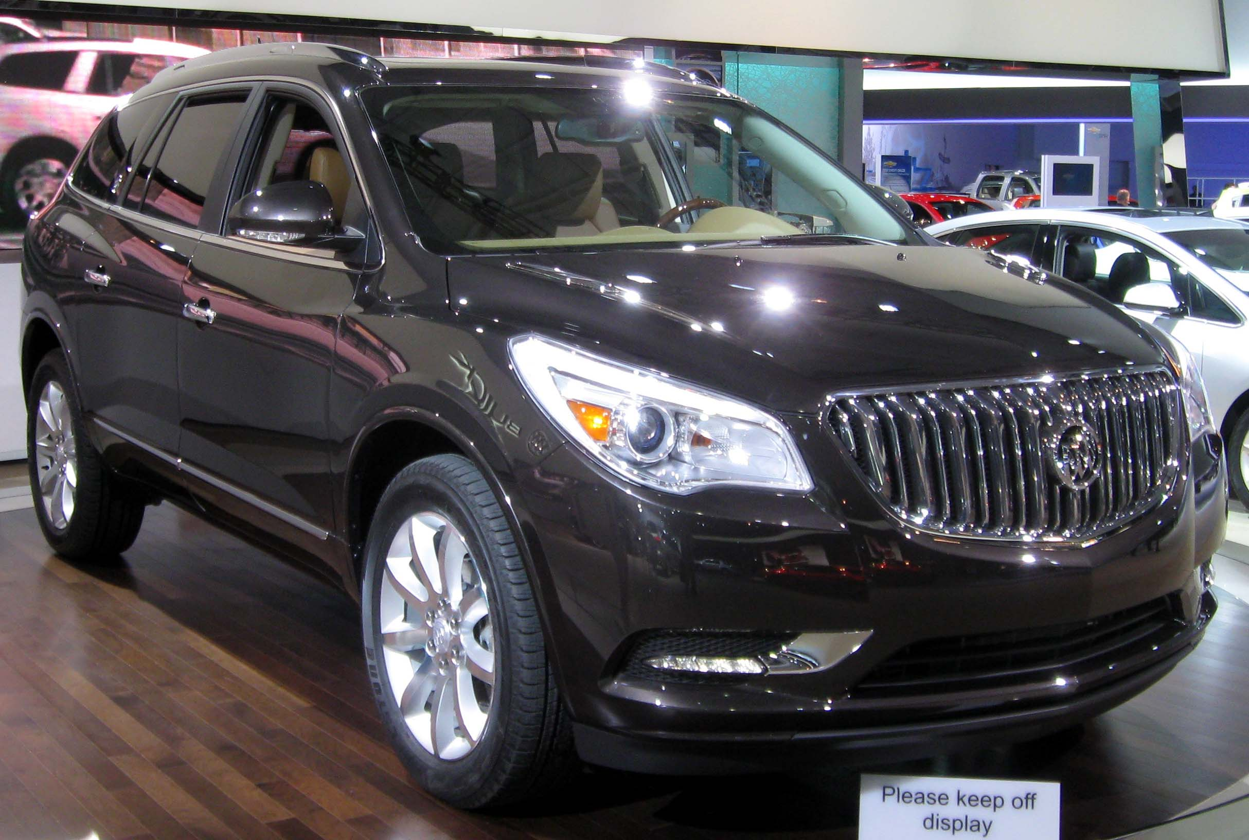 Cars buick enclave 2012