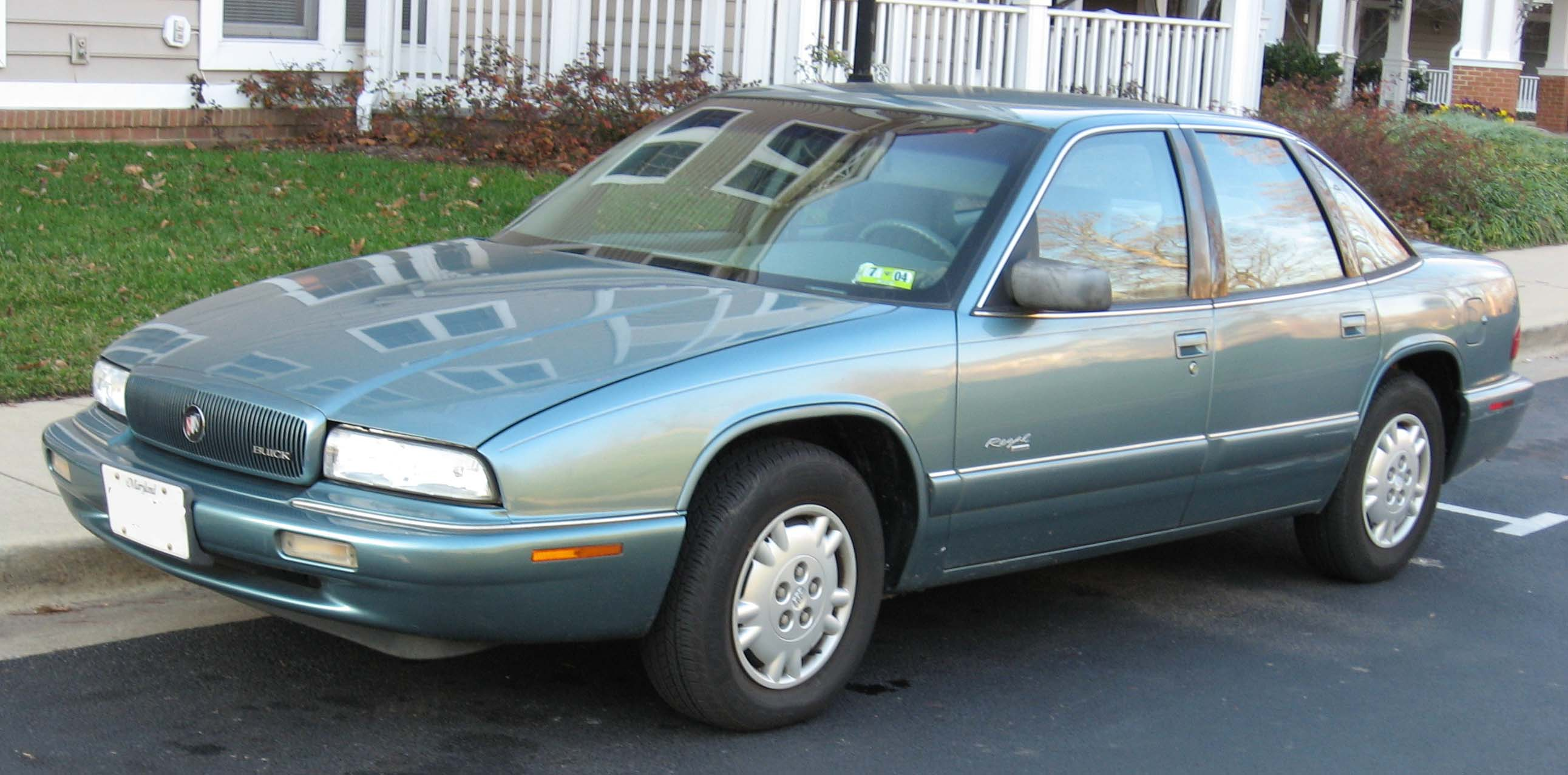 Cars buick regal coupe 1995