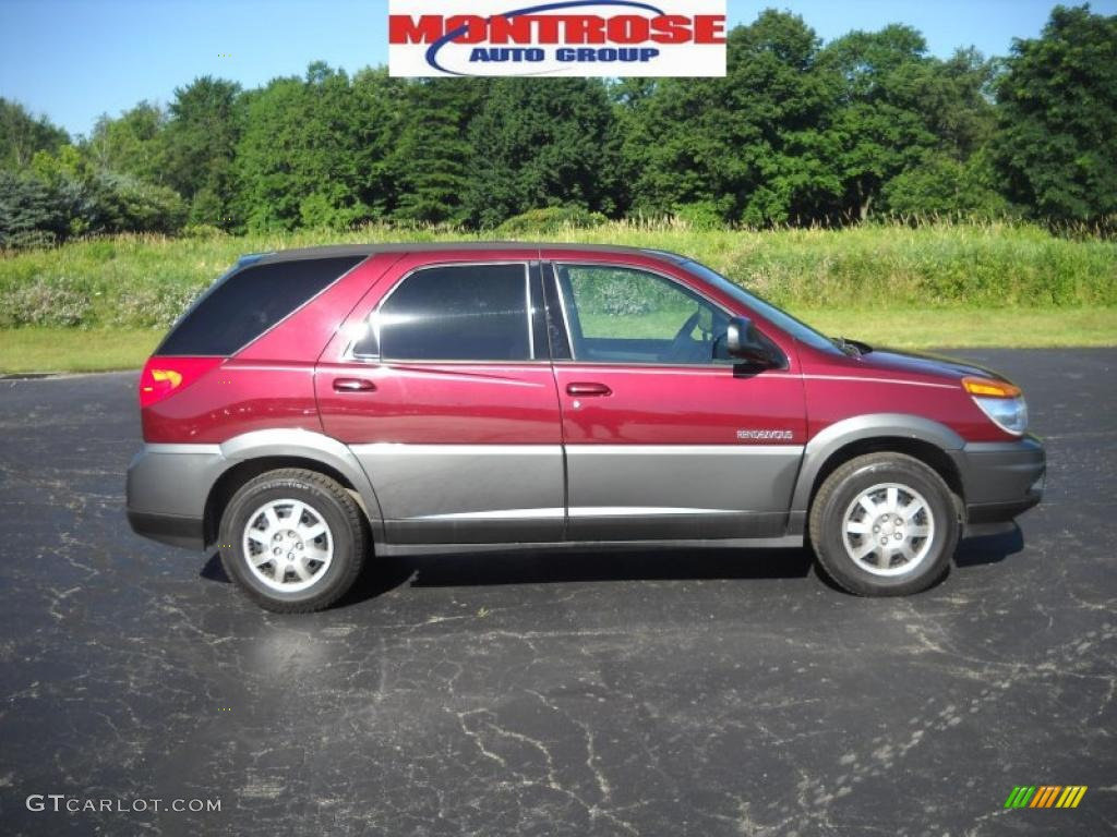 Cars Buick Rendezvous on 2003 Buick Rendezvous Red