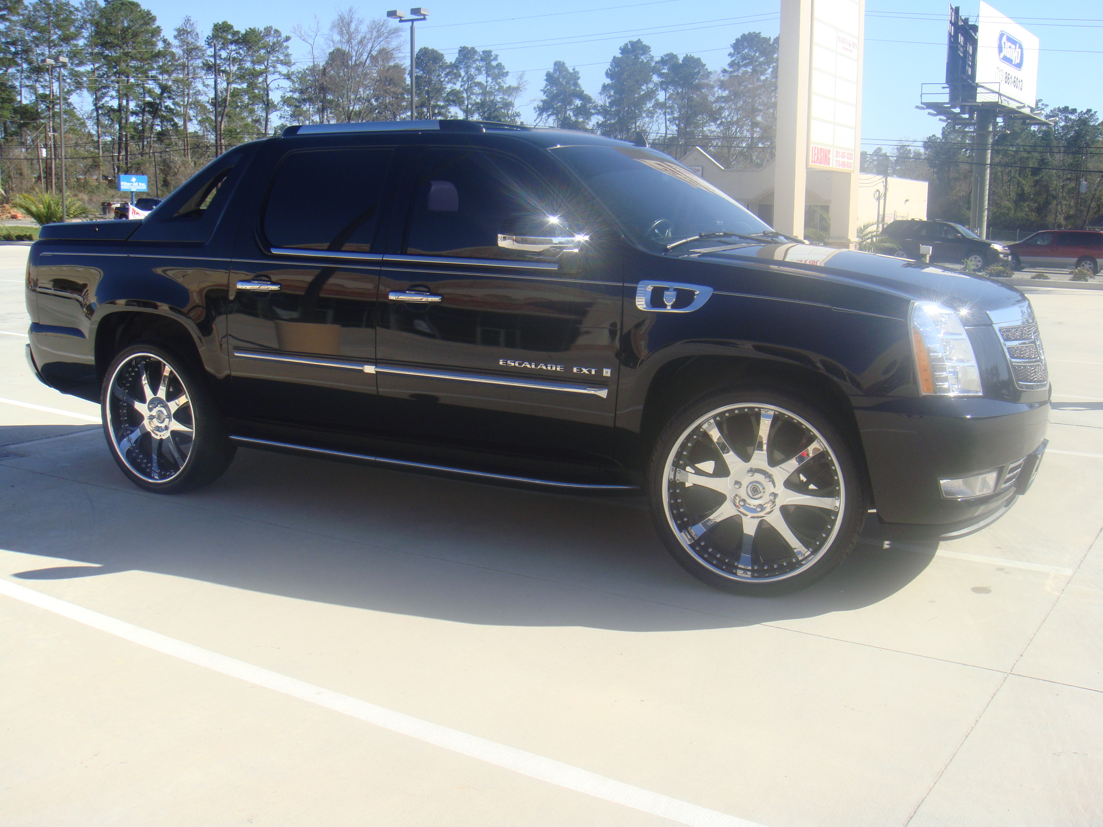 with trip cab for going ext a the escalade long sale comfortable cadillac pin crew