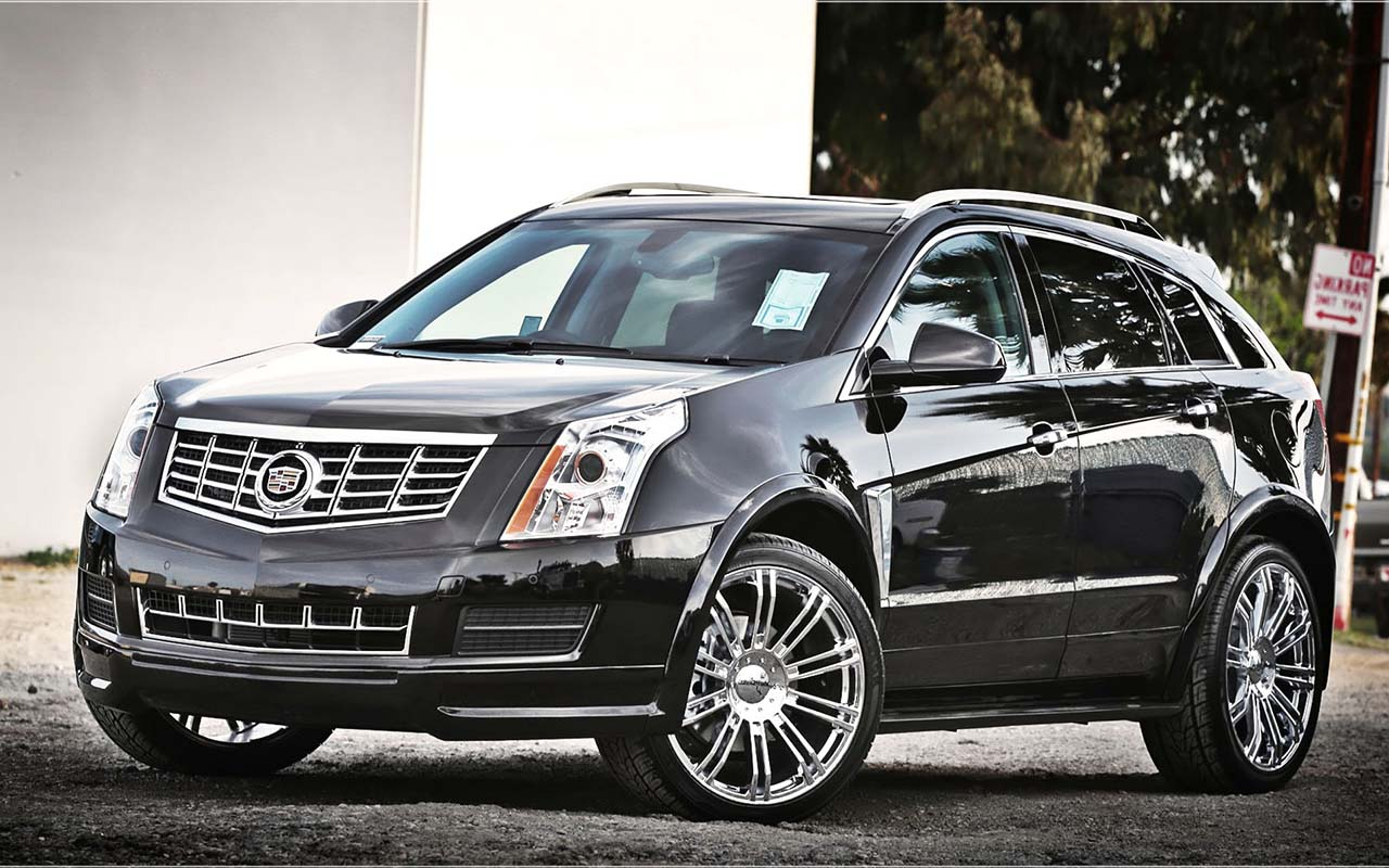 2016 Cadillac Srx Ii Pictures