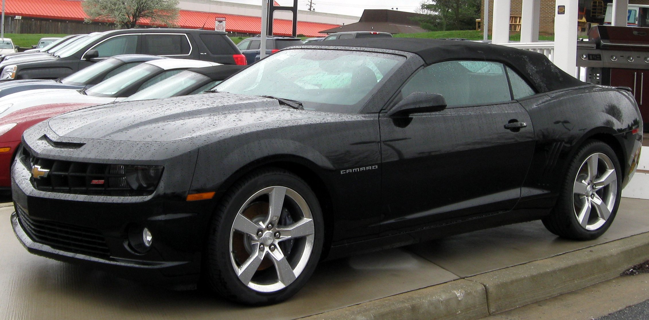 2009 Chevrolet Camaro convertible – pictures information and specs