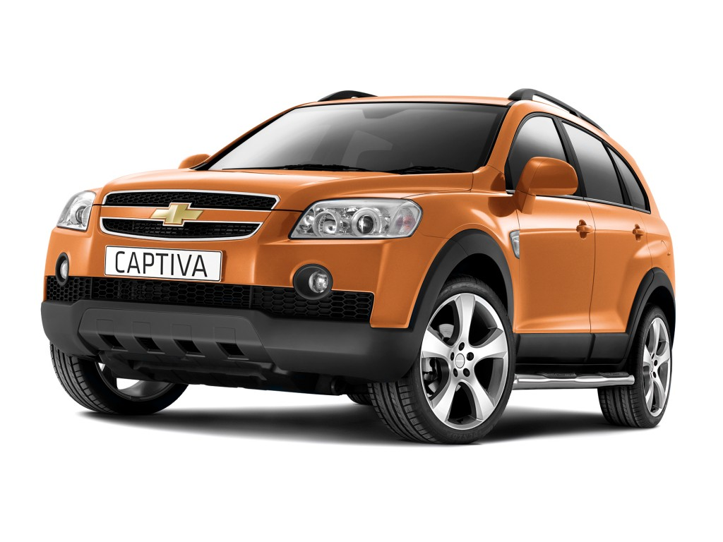 Cars chevrolet captiva 2008 #7