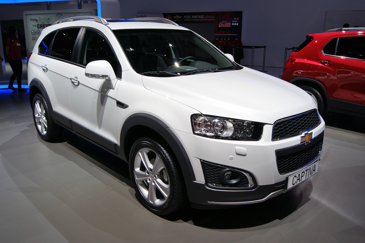 All Chevy chevy captiva 2014 : 2014 Chevrolet Captiva – pictures, information and specs - Auto ...