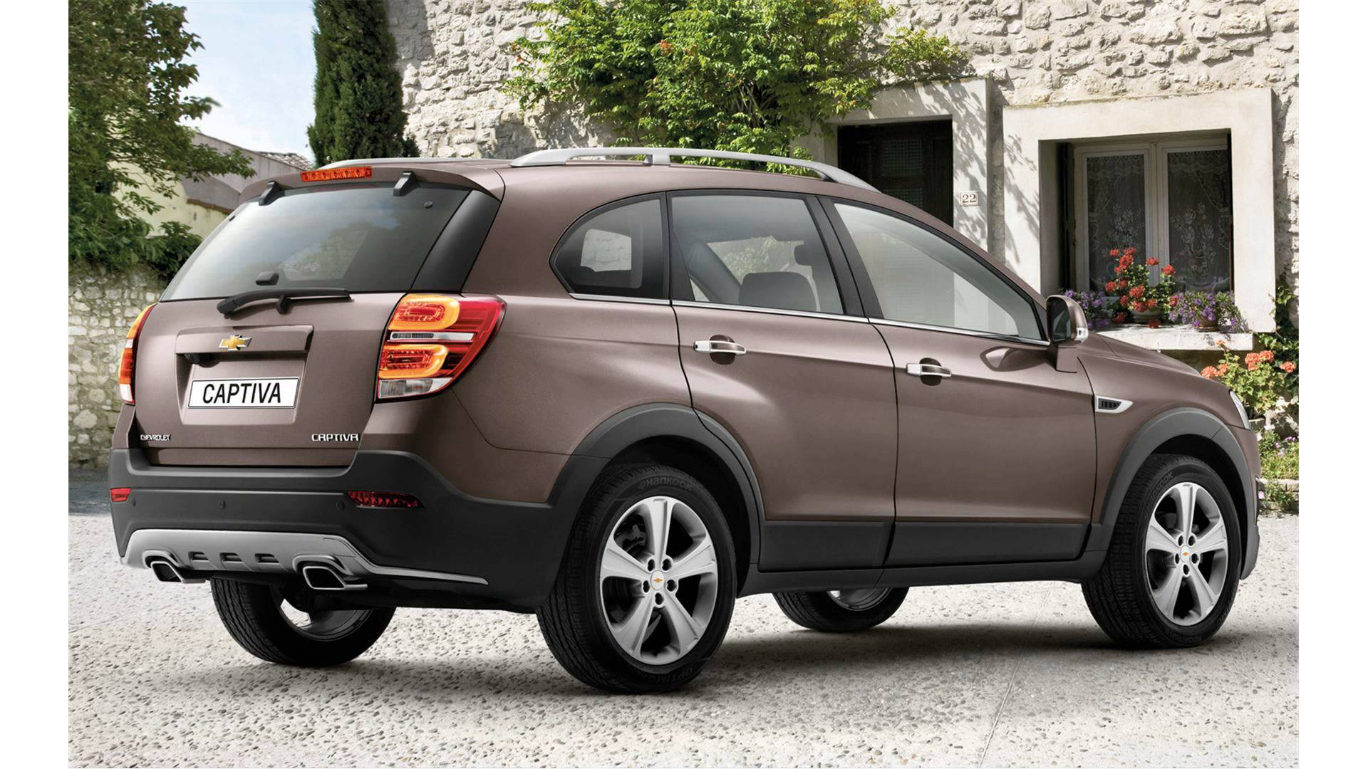 Cars chevrolet captiva 2015 #7